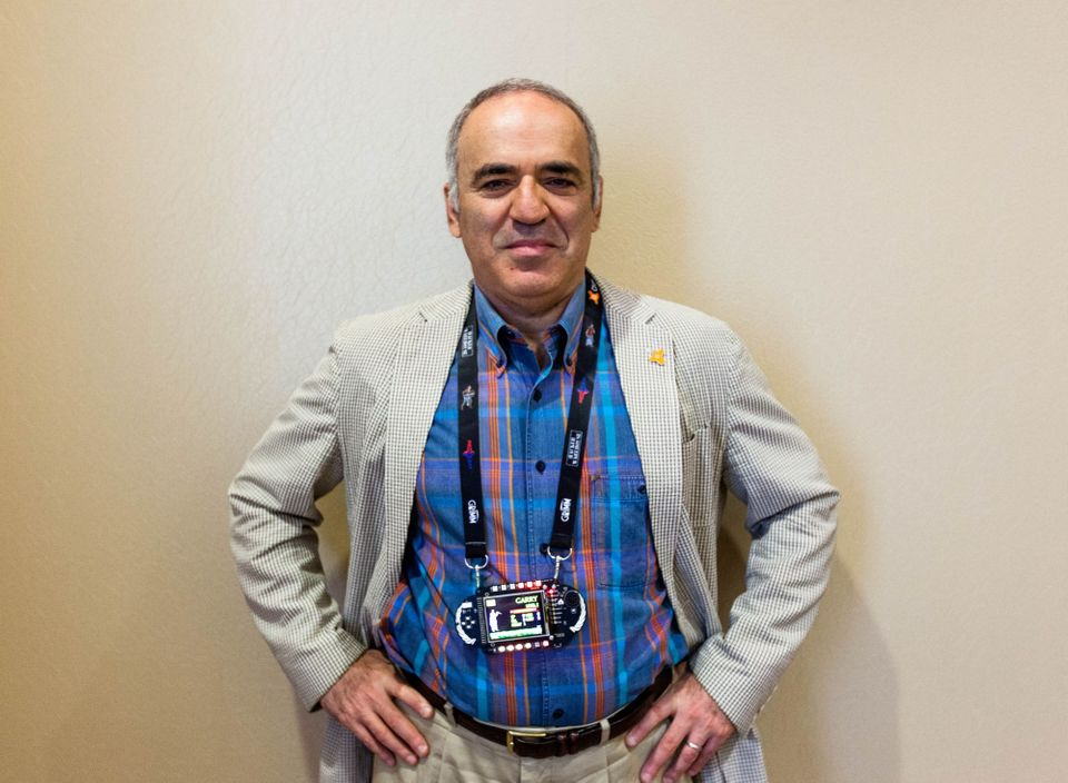 Kasparov talks calculated odds, AI, and cybersecurity (Q&A)